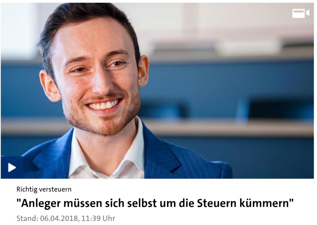 CryptoTax CEO Klaus Himmer im Interview mit Börse ARD