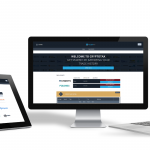 CryptoTax Open Beta on three Screens