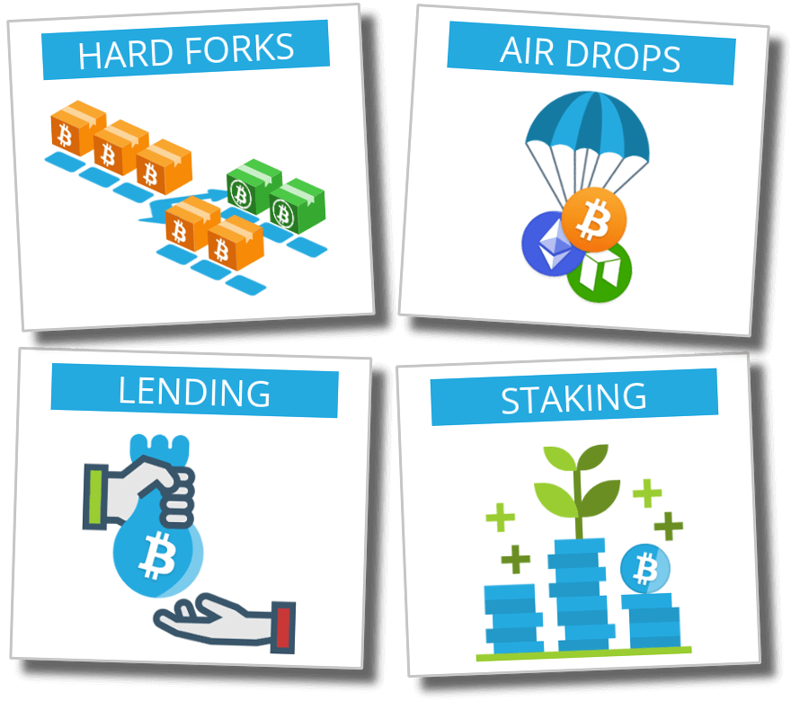 Classification - Hard Fork - Air Drop - Lending - Staking