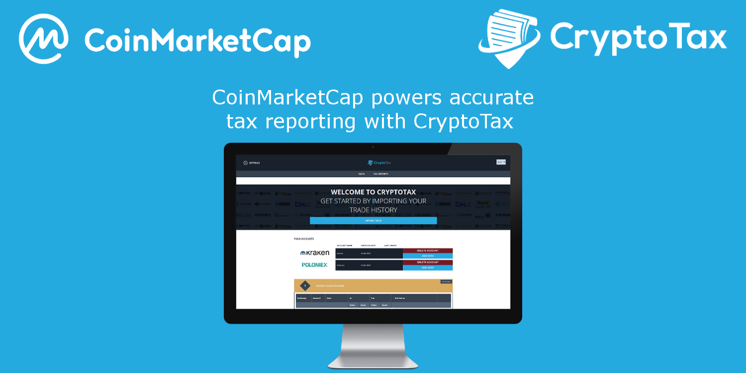 Partnership with CoinMarketCam