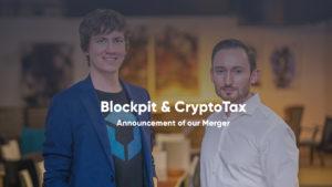 Merger von CryptoTax und Blockpit